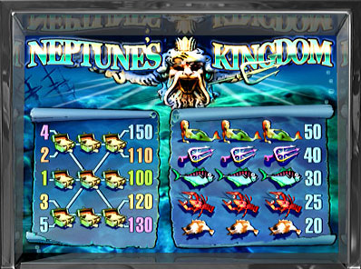 free Neptune's Kingdom slot payout