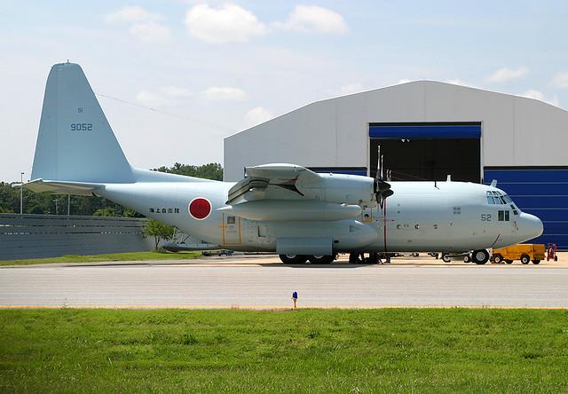 Japanese Navy JMSDF 9052 C130 KNHK