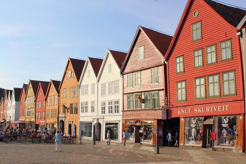 Bryggen at Bergen