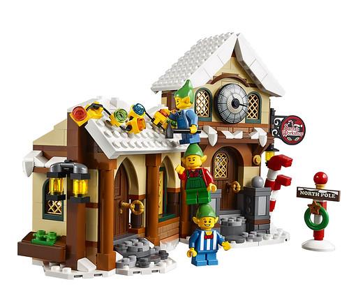 LEGO 10245 Santa's Workshop 09