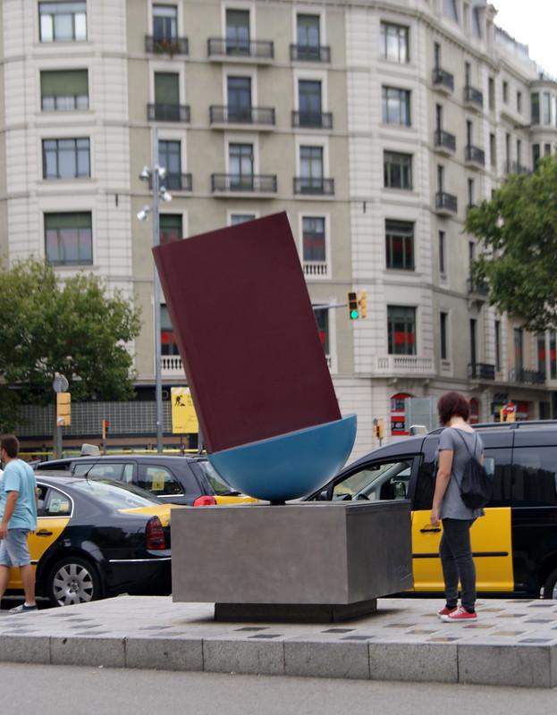 Escultura de Joan Brossa i Cuervo