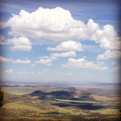 View from the McDonald observatory, texas