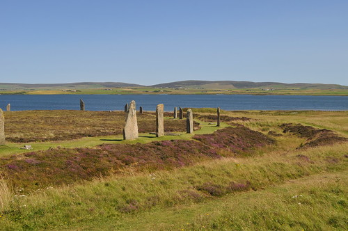 Ring of Brodgar, showing ditch/bank
