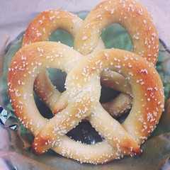 Pretzels! We're baking em fresh everyday!