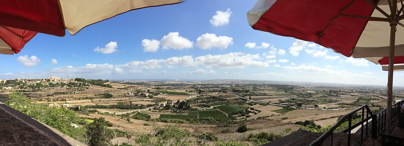 Panorama from Mdina