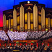 Mormon Tabernacle Choir rehearsing