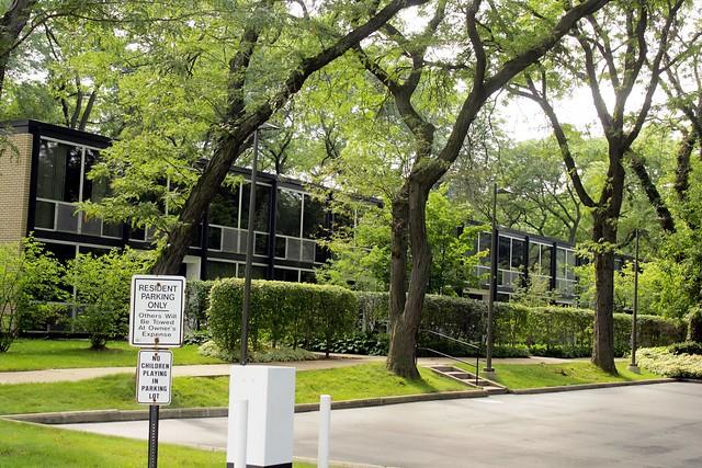 Lafeyette Park. Mies Van De Rohe Designed