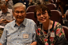 George Ariyoshi, former governor, State of Hawai'i, and wife, Jean