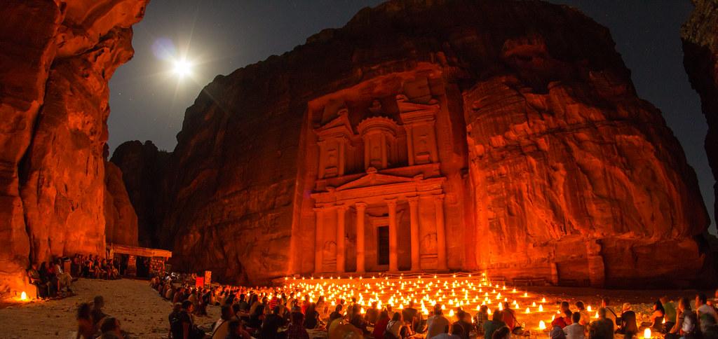 &Quot;Khazneh&Quot; Petra By Night, Jordan / Pétra De Nuit, Jordanie