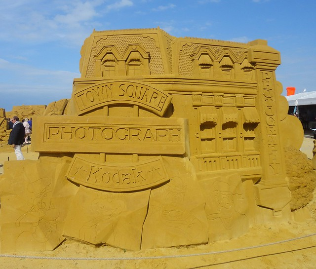 Sculpures sur sable Disney - News Touquet p.1 ! 14770308329_8b317b6832_z