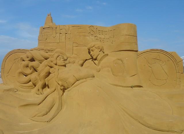 Sculpures sur sable Disney - News Touquet p.1 ! 14770459177_c5e4bdc902_z
