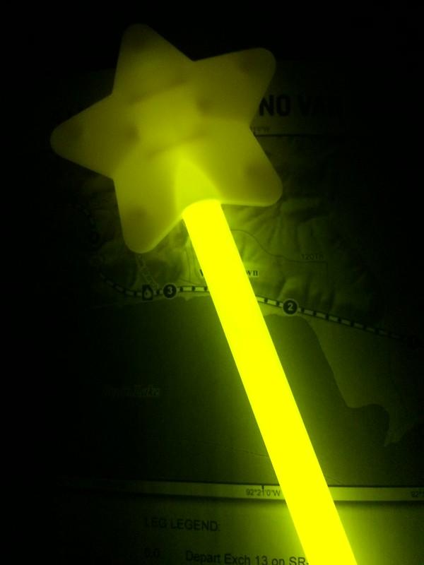 Glowy wand