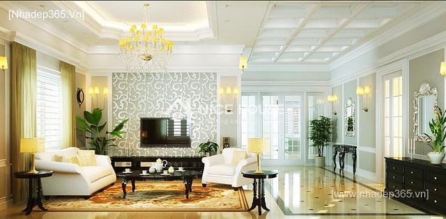 Thiết kế nội thất tân cổ điển Quảng Ninh_2