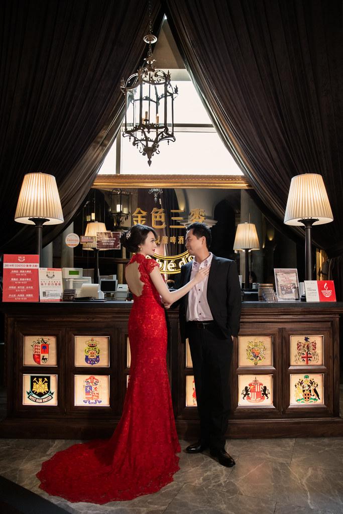 婚禮攝影 金色三麥美麗華
