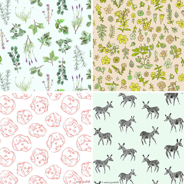 Spoonflower Free Swatch Day / Eco Canvas