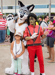 Fursuiting at San Diego Comic Con 2014