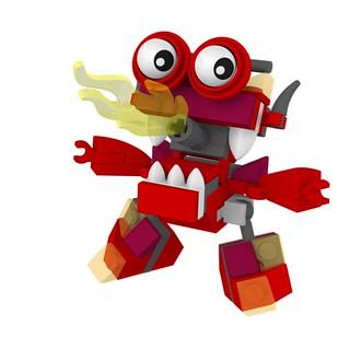 LEGO Mixels Burnard