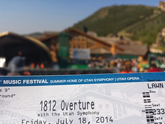 #HowISpentMySummer Day 2- 1812 Overture at the Deer Valley Music Festival