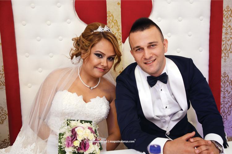 Emrah Çift ve Merve Şaşmaz evlendi