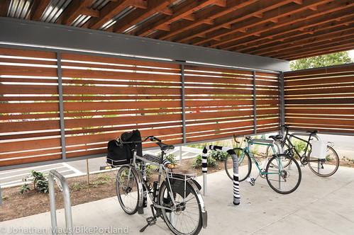 Bike parking at Green Zebra Grocery-13