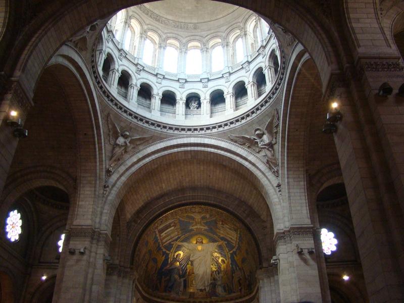 Sacre Coeur Basilica interior