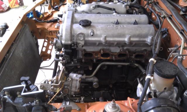 MM 00 EVO Engine Install 8