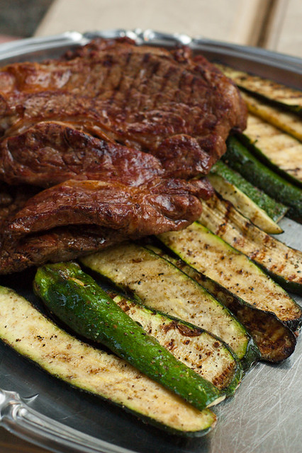 grilled-meat-with-chimichurri-sauce