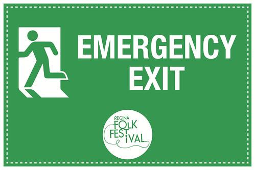 14M - Emerg Exit LEFT