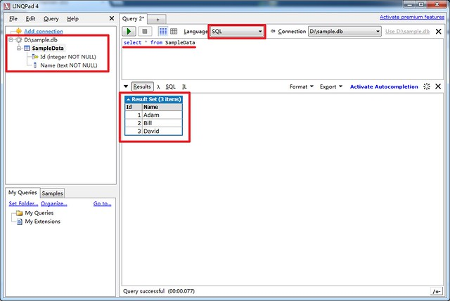 2014-08-03 LINQPad SQLite 06