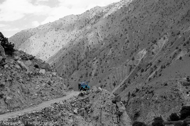 Road to Fairy Meadows - Jeep
