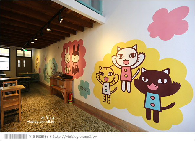 【阿朗基咖啡】台南店開幕囉!台南老屋餐廳推薦~老屋改造+可愛療癒系的新餐廳22