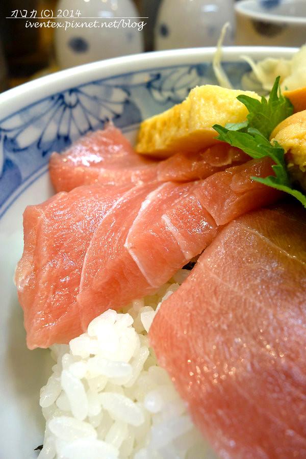 39日本東京築地市場つきじ かんの菅野商店生魚片丼飯