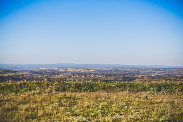 Overlooking Bacchus Marsh - Afternoon - No Fog