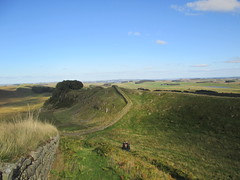 Hadrian's Wall near Housesteads Fort