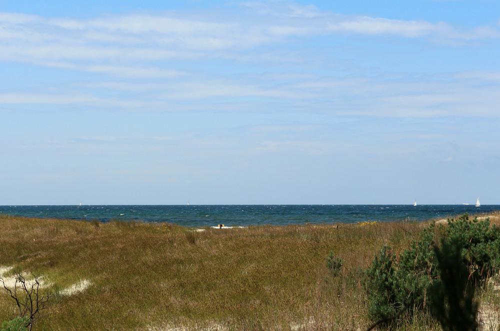 Blick auf die Ostsee