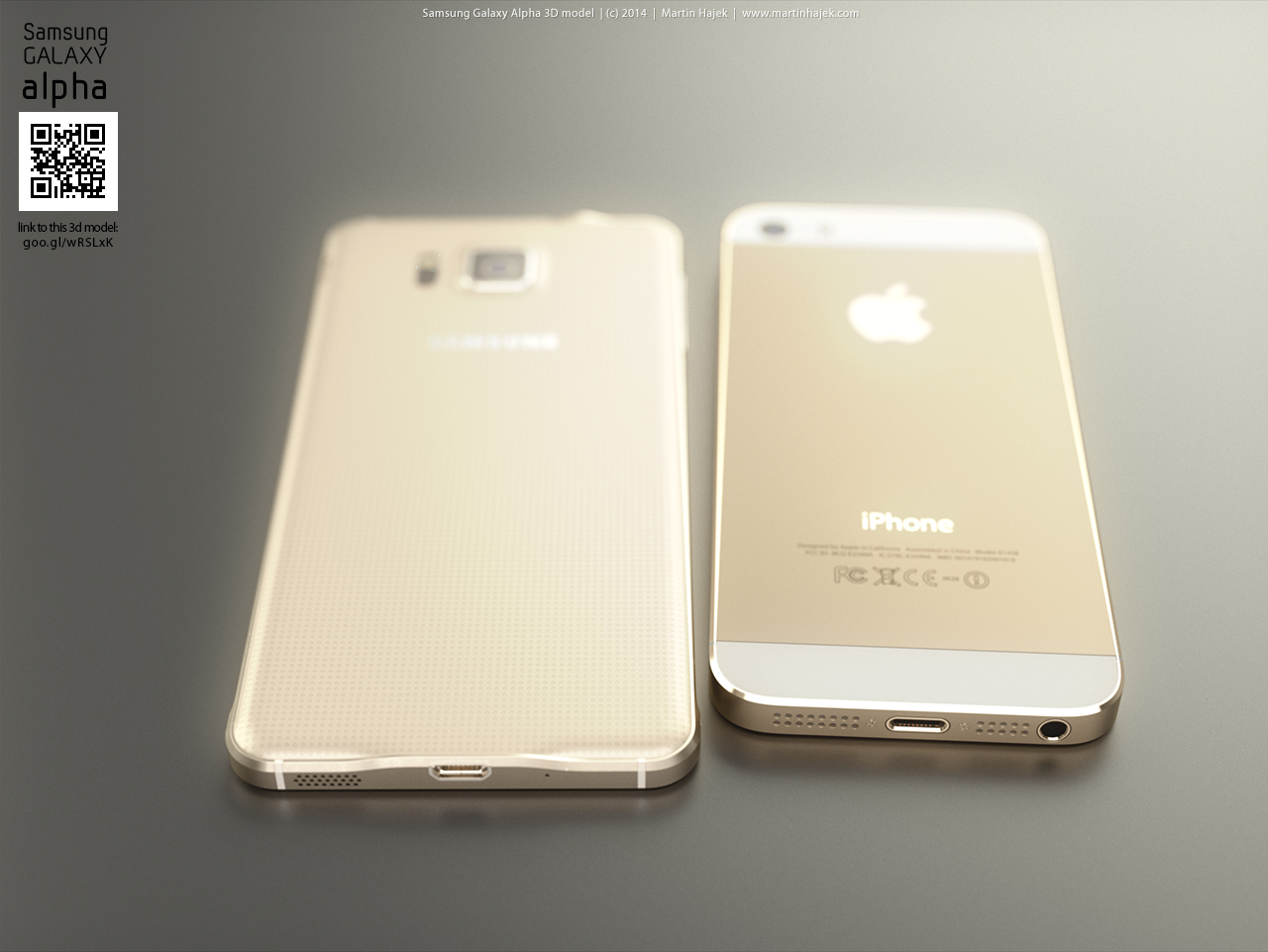 Galaxy Alpha vs. iPhone 5/6