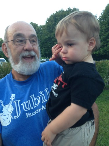 Grandpa and Elliott