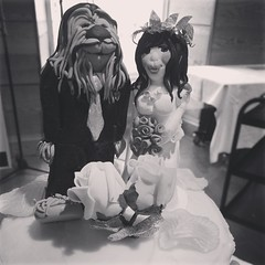 Wookie and bride