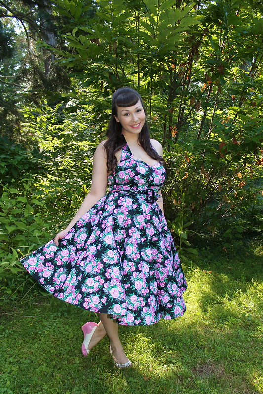 Hell Bunny floral dress