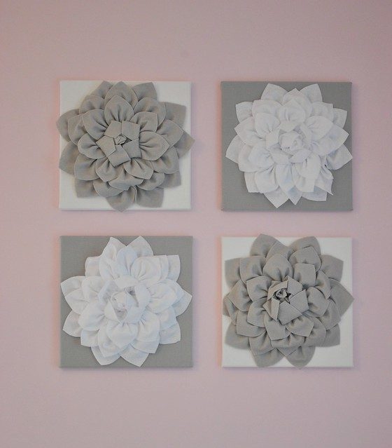 Shea's Nursery Wall Flowers