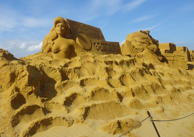Sculpures sur sable Disney - News Touquet p.1 ! 14956557382_560e2eb0a3_z