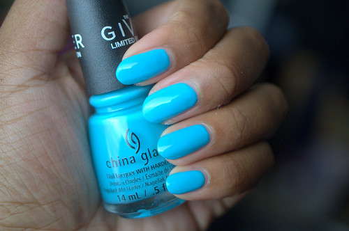 China Glaze Capacity to See Beyond