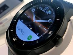 LG G Watch R (Smartwatch auf der IFA)