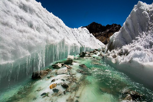 india snow mountains ice water geotagged flow hiking august carve gps himalayas 2014 mychoice kalindi uttarakhand