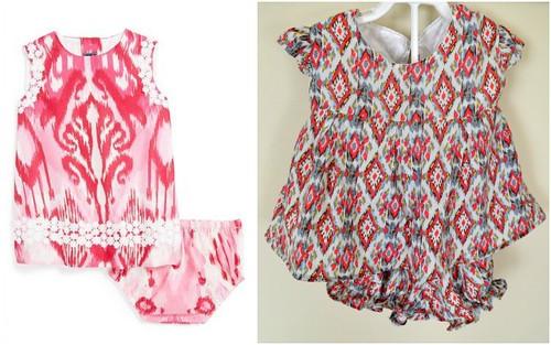 Knock It Off Ikat Baby Dress