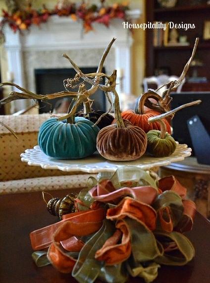 Velvet Pumpkin Vignette