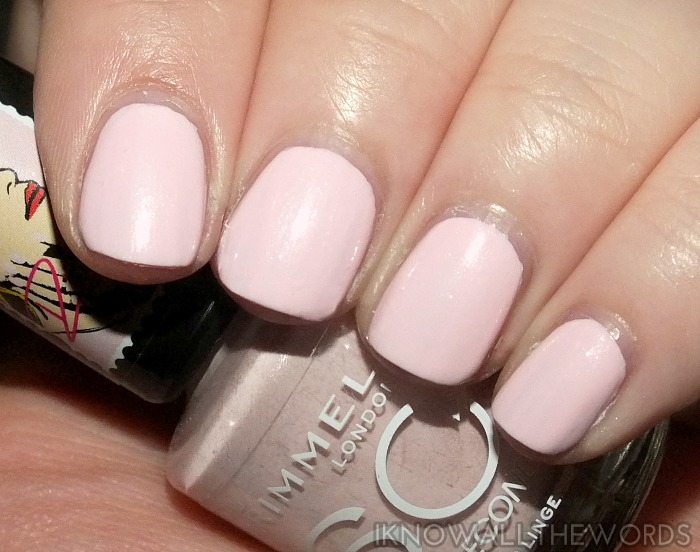 rimmel 60 second nail polish x rita ora- lose your lingerie