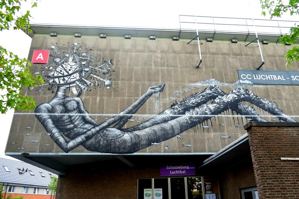 mural | phlegm |antwerp-luchtbal. belgium