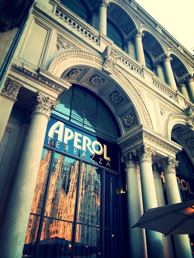 Aperol Terrazza In Milan Aperol Milan Luxury Beautifu