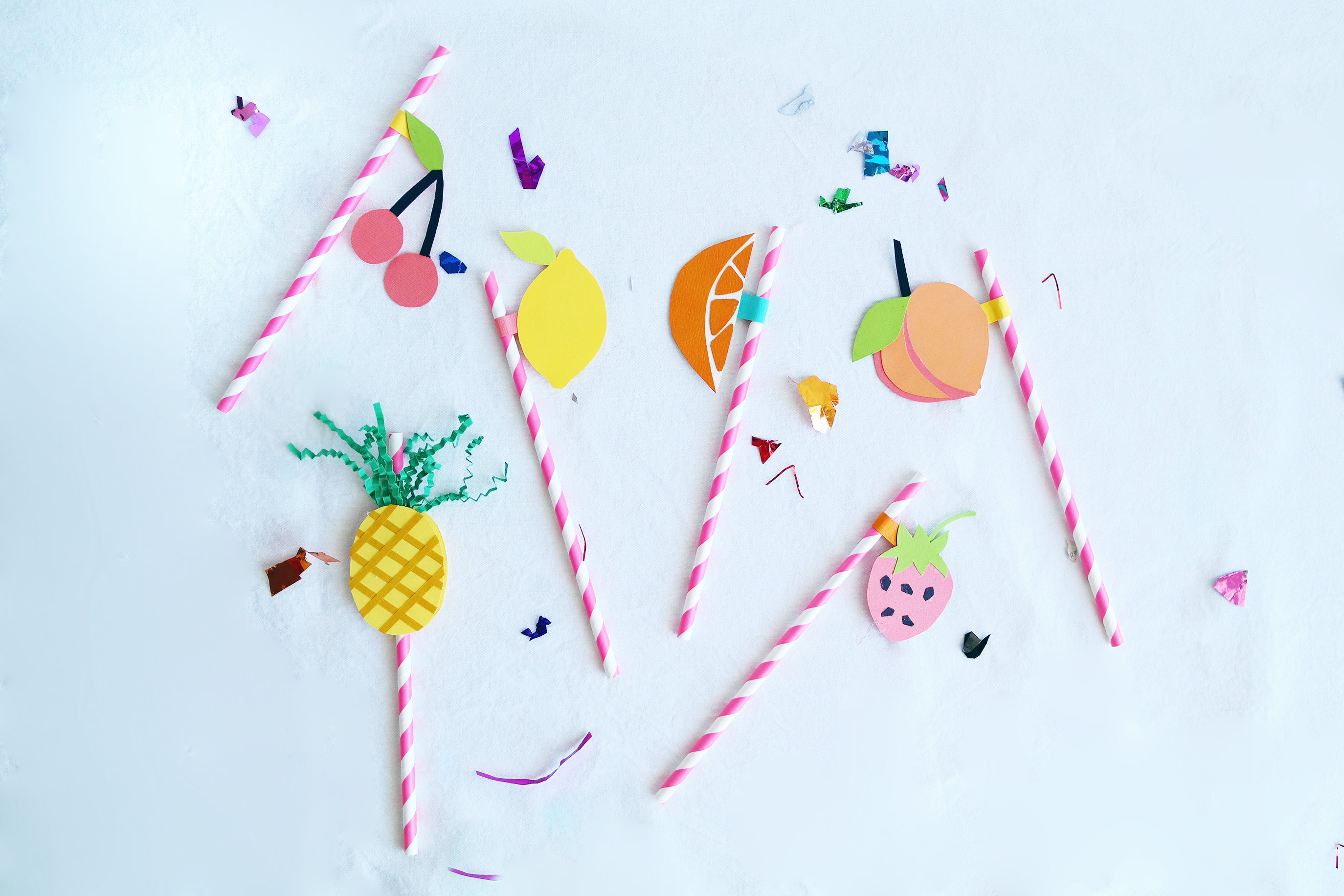 fruit straws